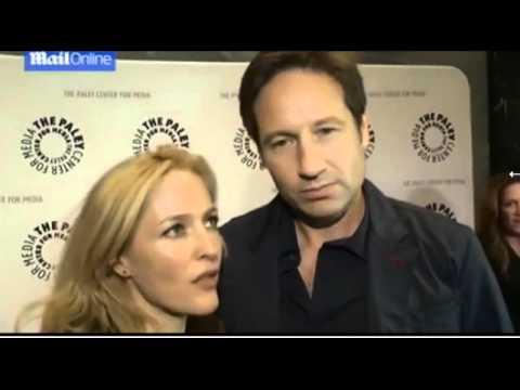 Gillian Anderson Discuss Third X Files Movie