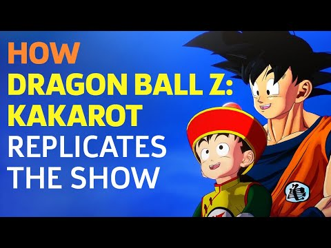 How the World of Dragon Ball Z: Kakarot Replicates the Show