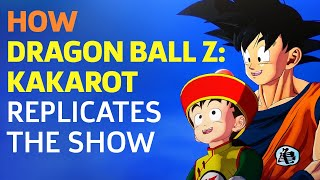 How the World of Dragon Ball Z: Kakarot Replicates the Show