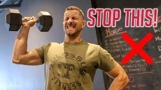 How to PROPERLY Single Arm Shoulder Press For Muscle Gain