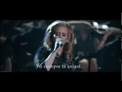 Adele - Lovesong (live) (Subtitulada al Español)