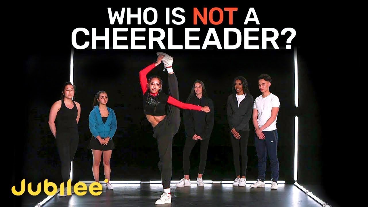 Download 6 Cheerleaders vs 1 Fake | Odd One Out