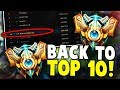 PANTS ARE DRAGON GETS RANK 10 CHALLENGER!! - Challenger to RANK 1