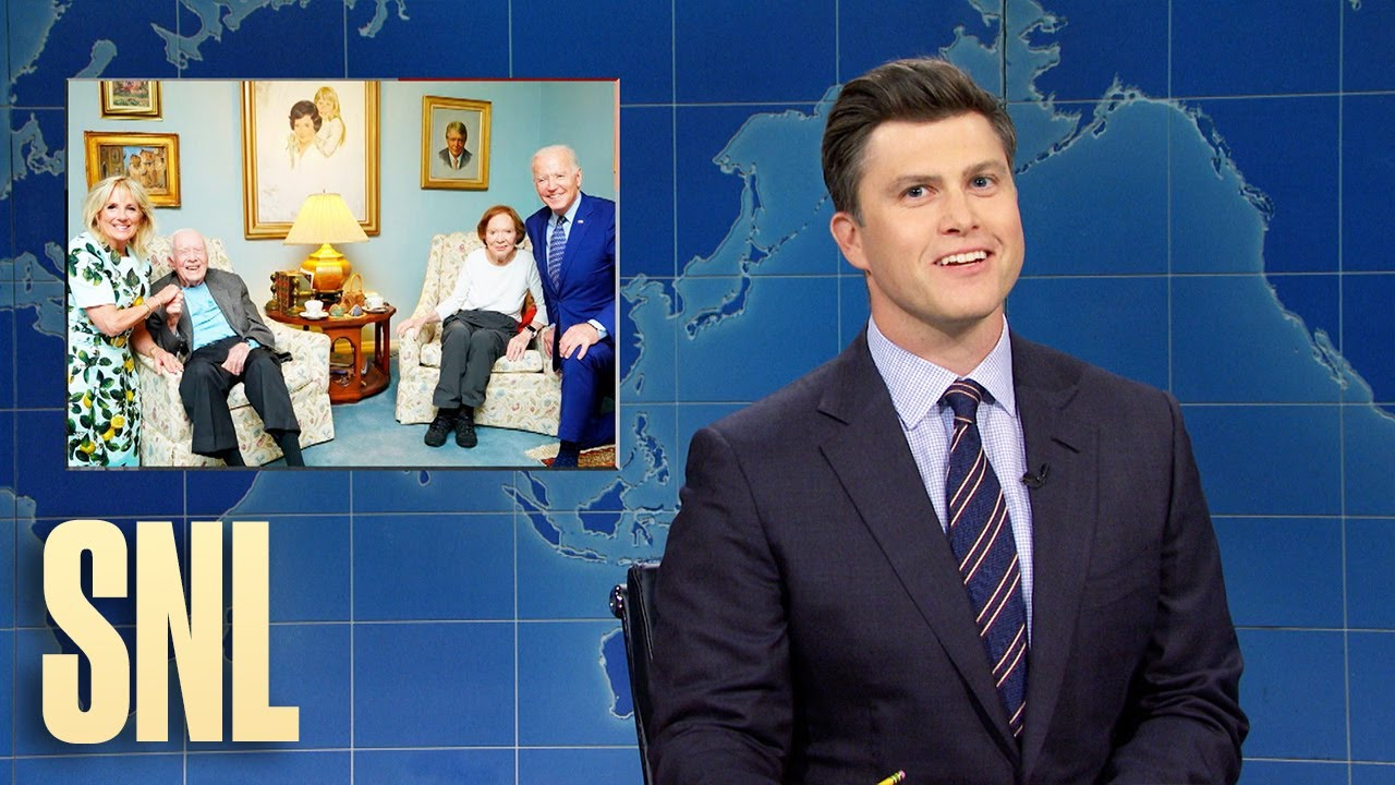 Download Weekend Update: The Bidens and Carters Take a Picture & the Most Instagrammable Bird - SNL
