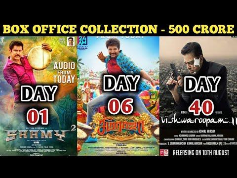 Box Office Collection Of Saamy Square,Seema Raja & Vishwaroopam 2 | Chiyaan Vikram | Sivakarthikeyan