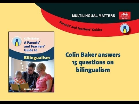 Colin Baker answers 15 questions on bilingualism