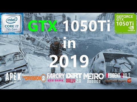 GTX 1050 Ti Test in 9 Games in 2019
