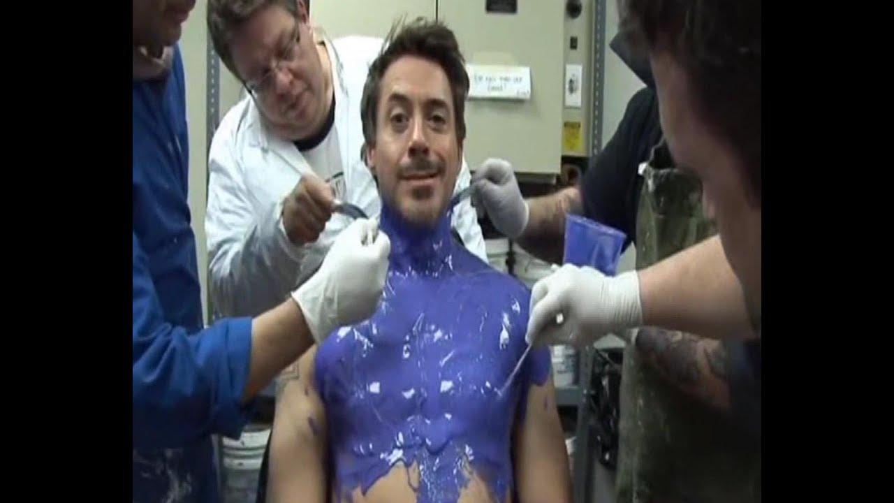 Robert Downey Jr. armadura de 45 kilos