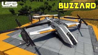 Space Engineers - Buzzard Tiltrotor