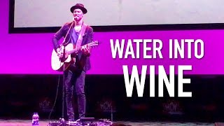 """""""Water Into Wine"""" - Troy Baker/Window To The Abbey (Live at Manchester MCM Comic Con 2018)"""