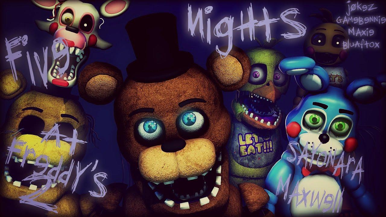 Download [SFM] Five Nights At Freddy's 2 song (Sayonara Maxwell) (COLLAB)
