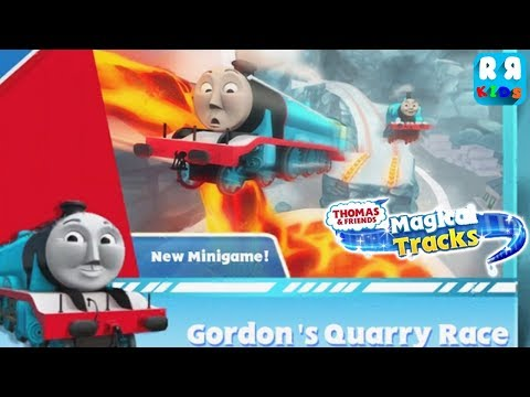 Complete Gordon's Quarry Race Toys  Thomas and Friends: Magical Tracks