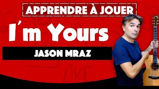 I'M YOURS - JASON MRAZ - TUTORIAL GUITARE 🎸