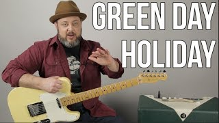 Download lagu Green Day Holiday Guitar Lesson MP3