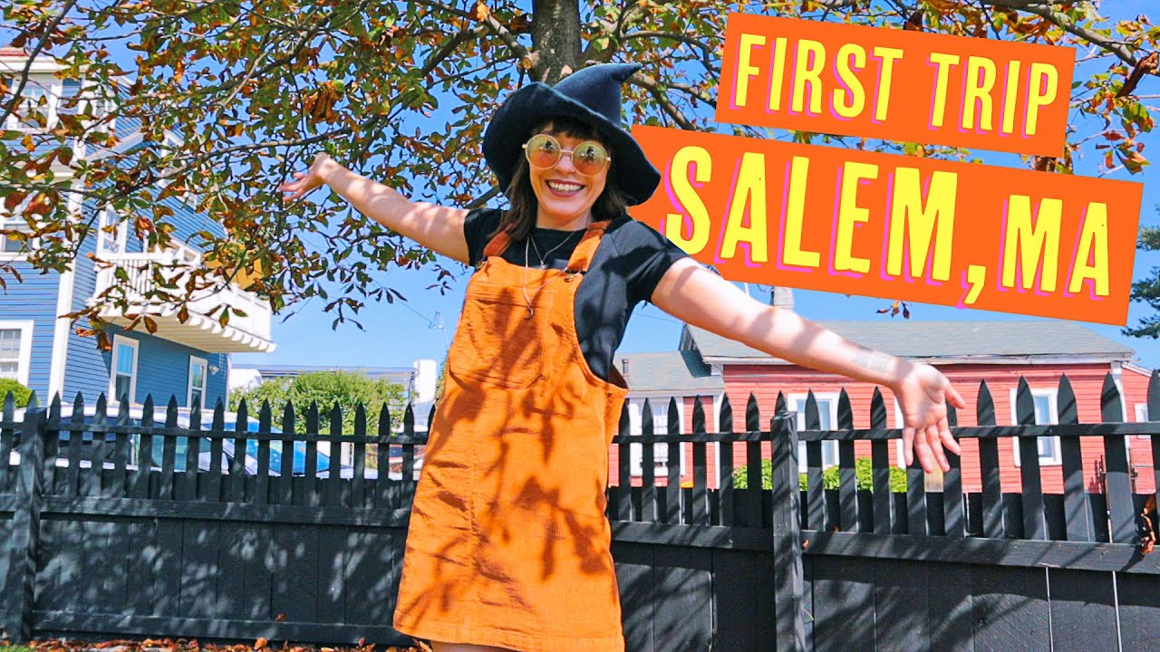 Visiting Salem, MA in a Day!   Hocus Pocus House, Shopping & Food