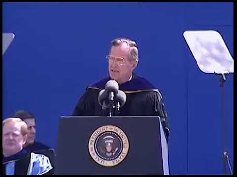 President George H.W. Bush on political correctness on college campuses (1991)