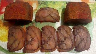 Бастурма слоёная из куриной грудки - Эксклюзивный рецепт вяленого мяса