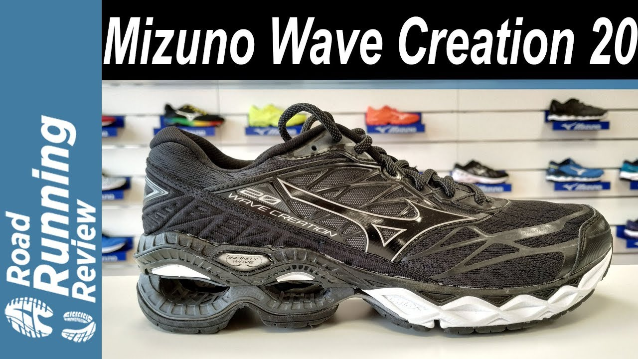 t�nis mizuno wave creation 20 feminino gris