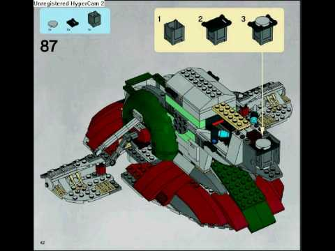 Slave 1 8097 Official Building Instructions Book 2 Youtube