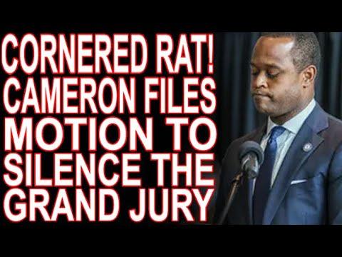 Terrified Daniel Cameron Tries To Silence Grand Jurors