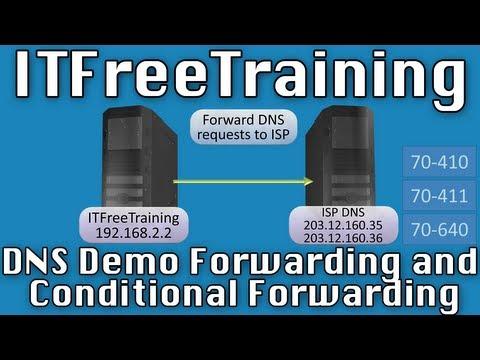 Configuring DNS Forwarding Conditional Forwarding