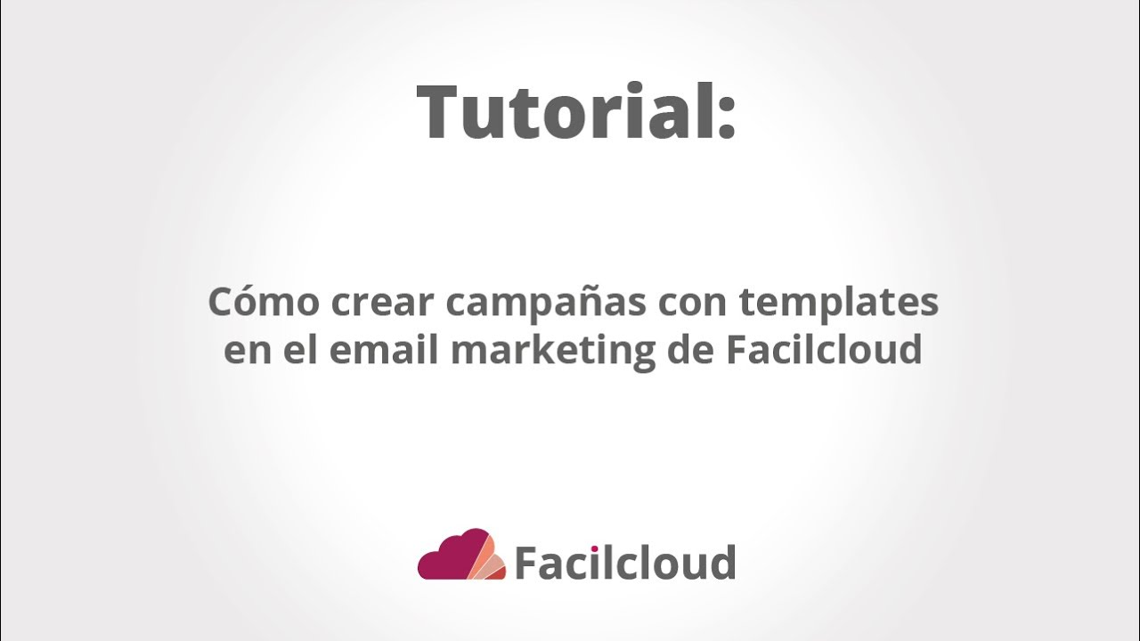 Cómo crear campañas con plantillas en emailmarketing - YouTube