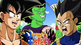 Vegeta And Goku React To If Goku And Vegeta Were BLACK Part 5!