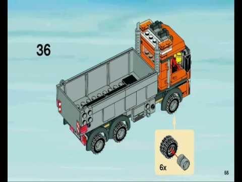 Lego City Instrukcja 1 Wywrotka 4434 Budowa Youtube