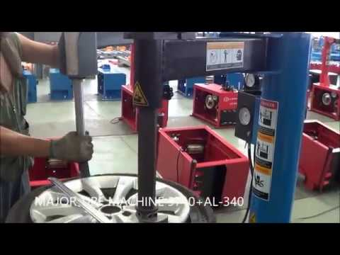 Tire Changer LT-710+AL-340-Major Tire Machine