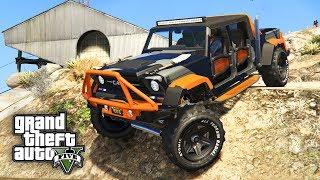 NEUER OFF-ROAD 4X4 TRUCK ! - GTA 5 Update