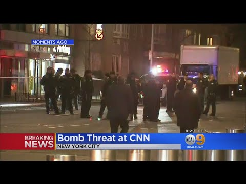 CNN Offices In New York City Evacuated After Bomb Threat