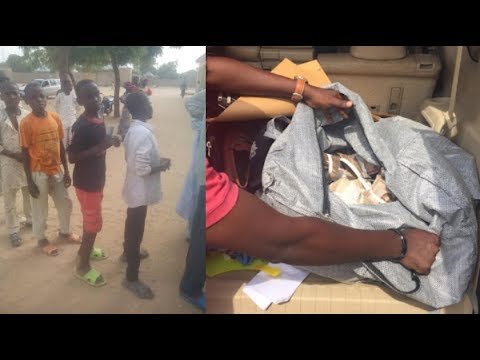 See Underage Voting,As EFCC Arrests Gov.Candidate Agent with bags of cash for vote buying