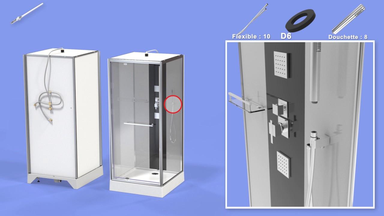 cabine de douche kubik 2