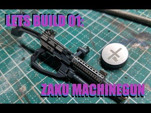 Lets build: photo etch zaku machine gun