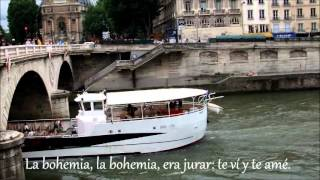 LA BOHEMIA - CHARLES AZNAVOUR - SUBTITULADO ESPAÑOL