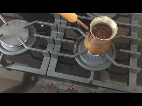 КОФЕ в турке☕️Мой утренний кофе с молоком��