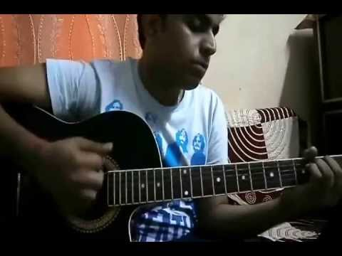 Dil Haari (Pyaas-Jal) Guitar lesson by Pranay