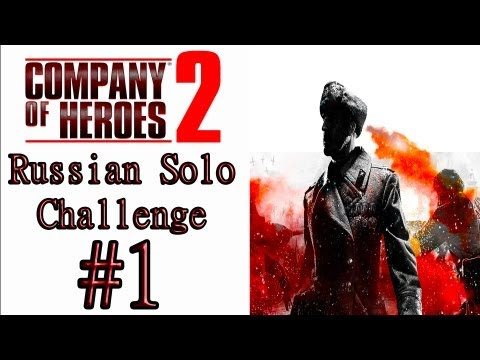 "Company Of Heroes 2 - (General Difficulty) - Theater Of War Solo Challenge: ""Indirect Fire"""