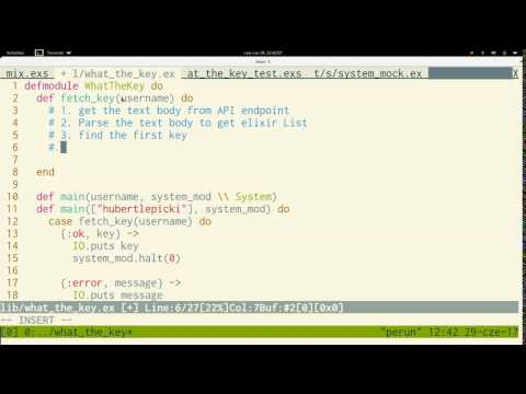 AmberCasts #3: TDD Elixir command-line application with ExUnit