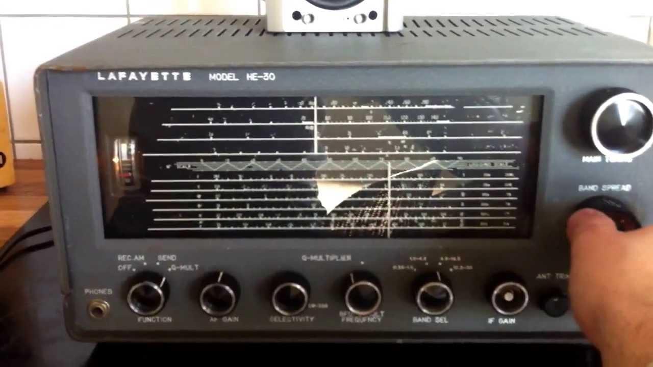Lafayette he 30 kw receiver jennen trio jr101 kurzwelle for Cronotermostato lafayette cds 30