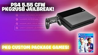 PS4 (CFW 5.55 JAILBREAK NEW!) *FIFA 19 FREE GAME PKG* UPDATE! *NEW* | Decrypted