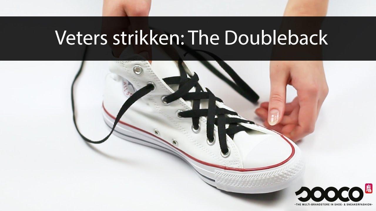 Veters strikken: The Doubleback   sooco.nl
