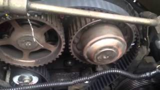 Timing belt change easy mark alignment fool proof installation
