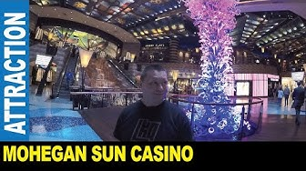 Mohegan Sun Casino slot machines gaming tables hotel spa   Jarek in Uncasville Connecticut USA