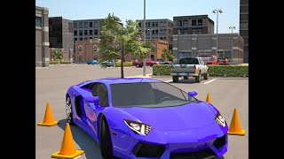 Driving School 3D Parking Gameplay movie