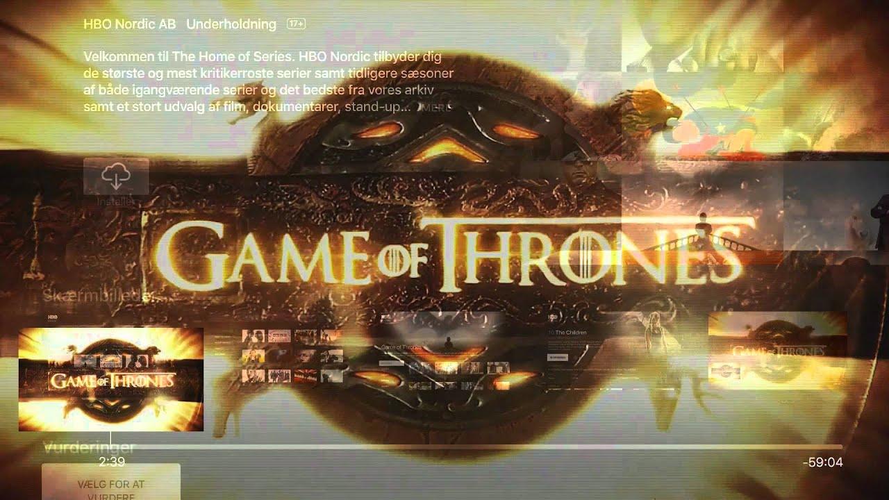 Apple TV: Sådan installerer du HBO Nordic - YouTube