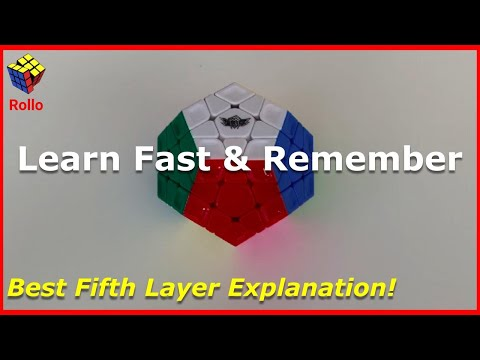 How to Solve the Megaminx - BEST Tutorial - Guaranteed!