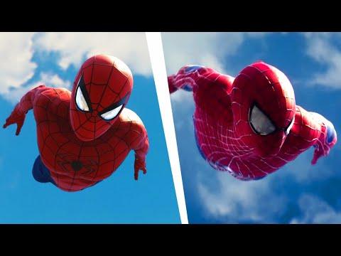 Spider-Man PS4 Recreating The Amazing Spider-Man 2 Intro scene