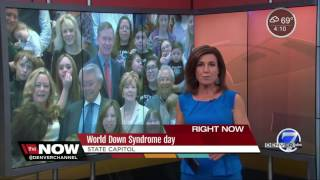 Celebrating World Down Syndrome Day at the state capitol