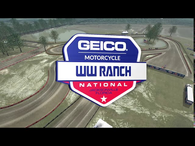 AMA Motocross WW Ranch Track Map!